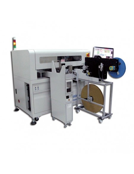 Auto Tray-250 integrated with DP3000-G2